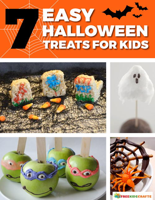 7 easy halloween treats for kids free ebook for Halloween treats to make with kids