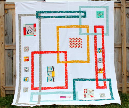 Interlock Modern Quilt Pattern Favequilts Com