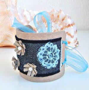 Toilet Paper Roll Bracelet FaveCrafts.com