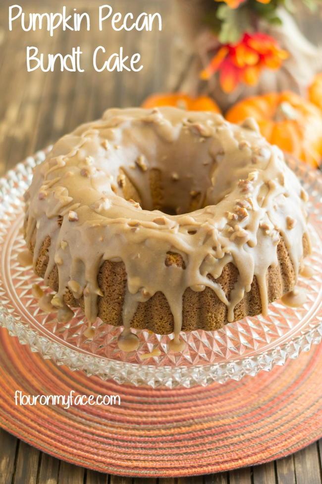 Pumpkin Pecan Bundt Cake Thebestdessertrecipes Com
