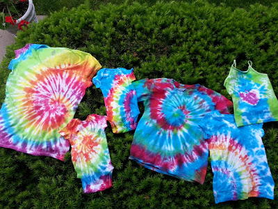 Rainbow Bright Tie Dye Shirt