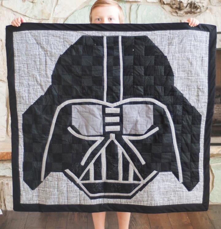 Darth Vader Free Quilt Pattern Favequilts Com