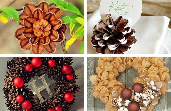 Pine cone crafts 14 things to make with pine cones for Things to make with fir cones
