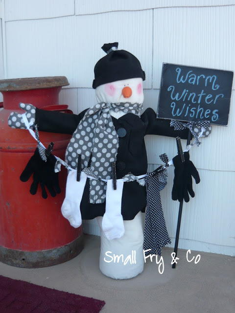 15 Sewn Snowman Craft Ideas And Other Snowy Christmas