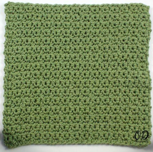 Quick And Clean Simple Crochet Dishcloth Allfreecrochetcom