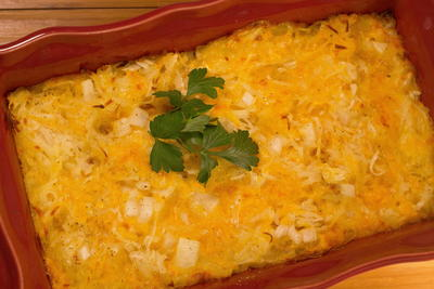 Easy Hashbrown Casserole