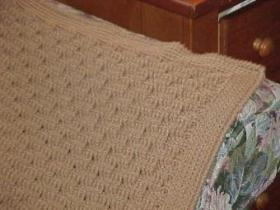 Neutral Basket Weave Crochet Baby Blanket ...