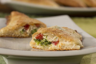Chicken and Broccoli Hand Pies
