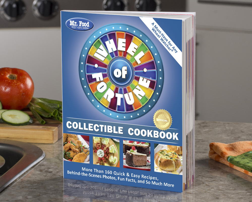 Mr. Food Test Kitchen Wheel of Fortune Collectible Cookbook | MrFood.com