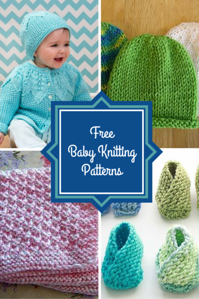 Knitting Ideas For Babies : Free baby knitting patterns allfreeknitting