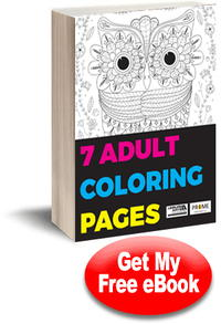 7 Adult Coloring Pages