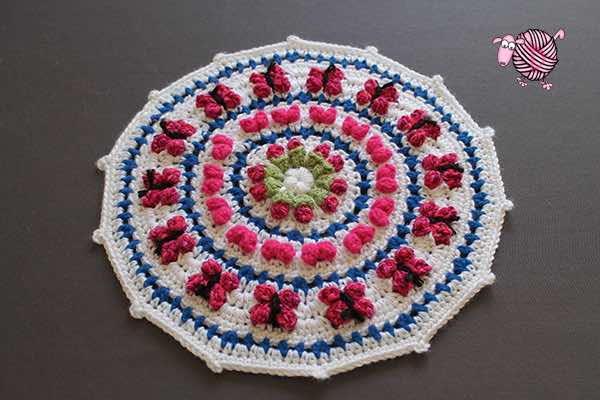 Debi S Mandala For Marinke Allfreecrochet Com