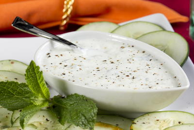 Yogurt Mint Dipping Sauce