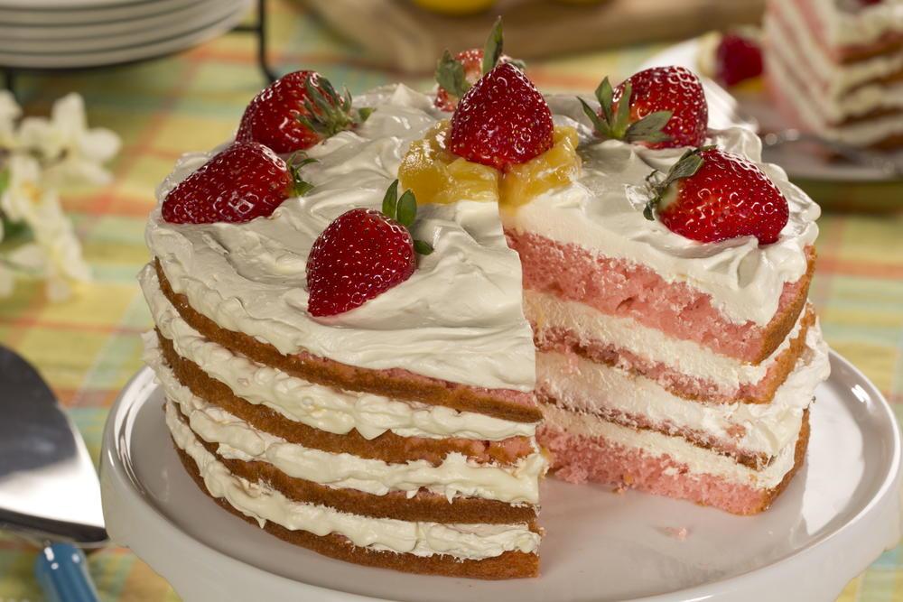 Sunshine Cake   MrFood.com