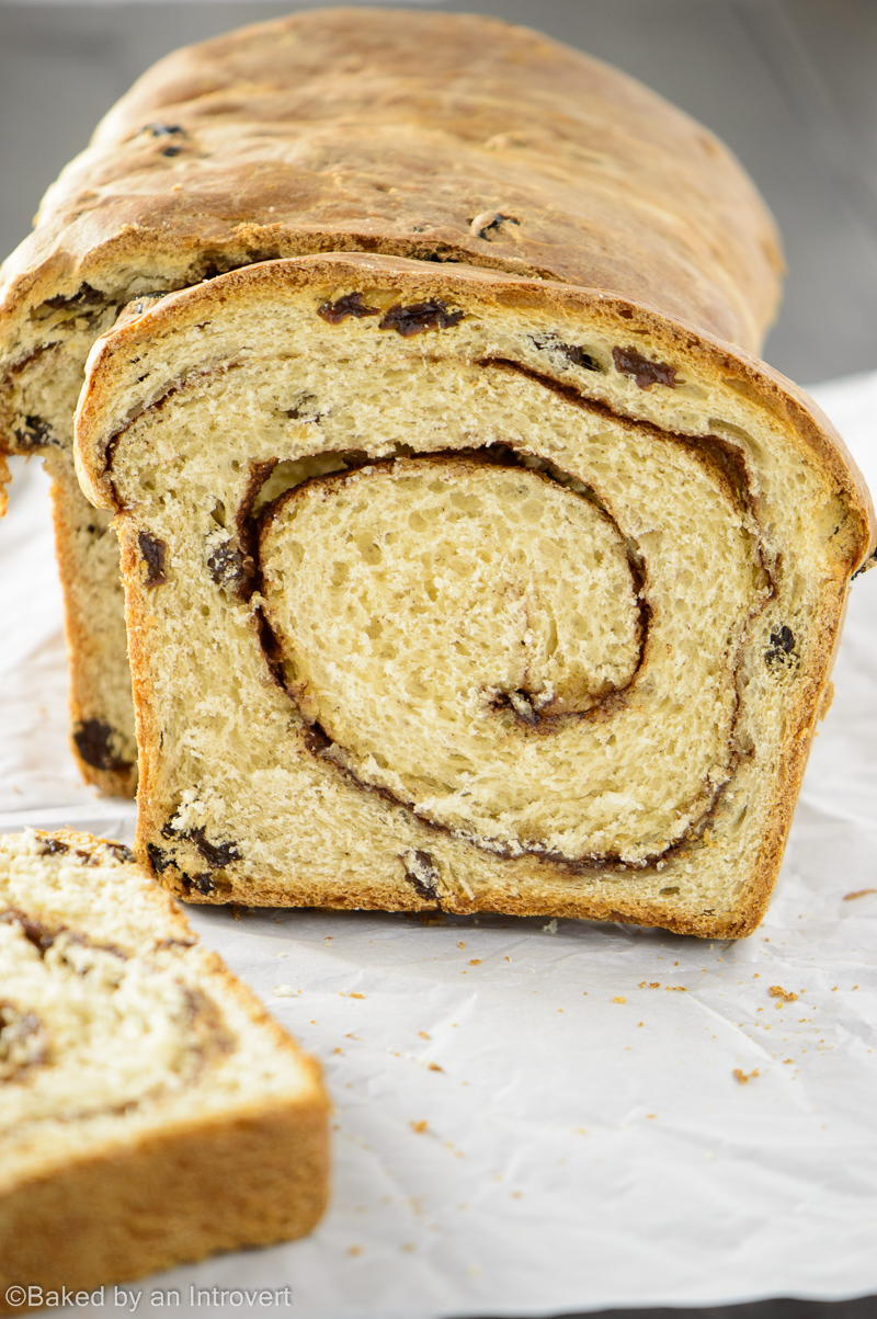 Swirly Cinnamon Raisin Bread Recipelion Com
