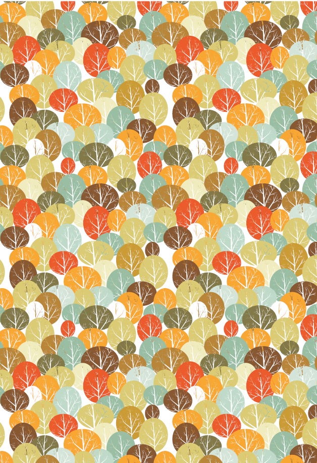 Fall Forest Printable Gift Wrap Allfreepapercrafts Com