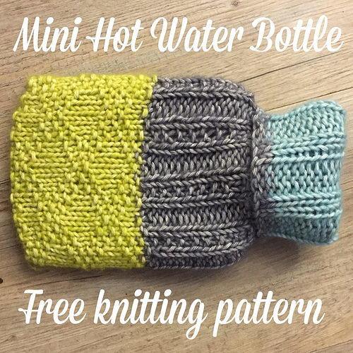 Mini Hot Water Bottle Cover