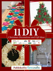 """11 DIY Christmas Decorations and Gift Ideas"" free eBook"