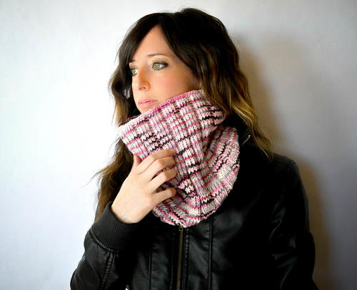 High Style Knit Cowl Pattern