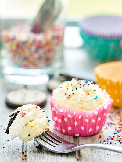 No-Bake Funfetti Mini-Cheesecakes  RecipeLion.com