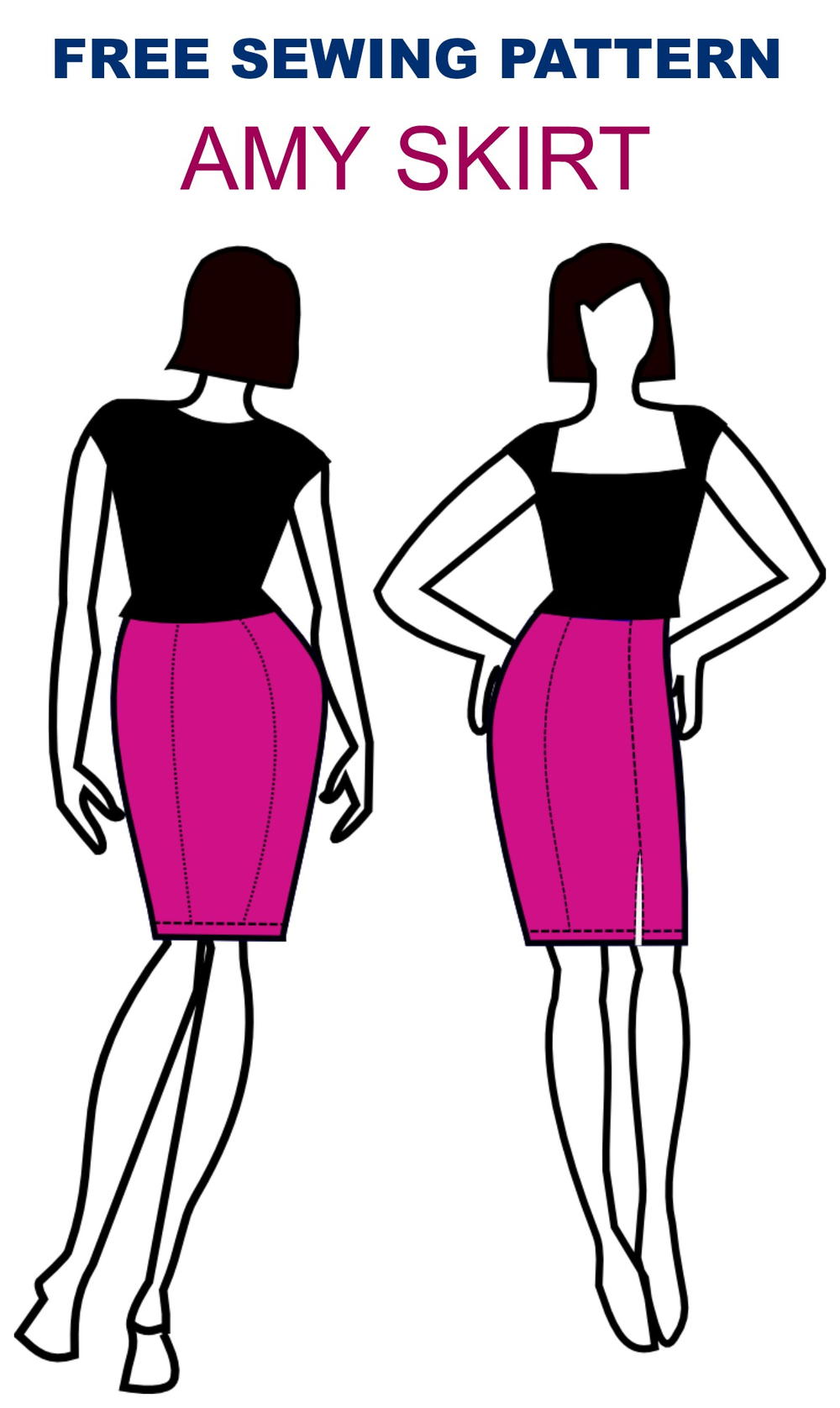 Amy Skirt Pattern Allfreesewing Com