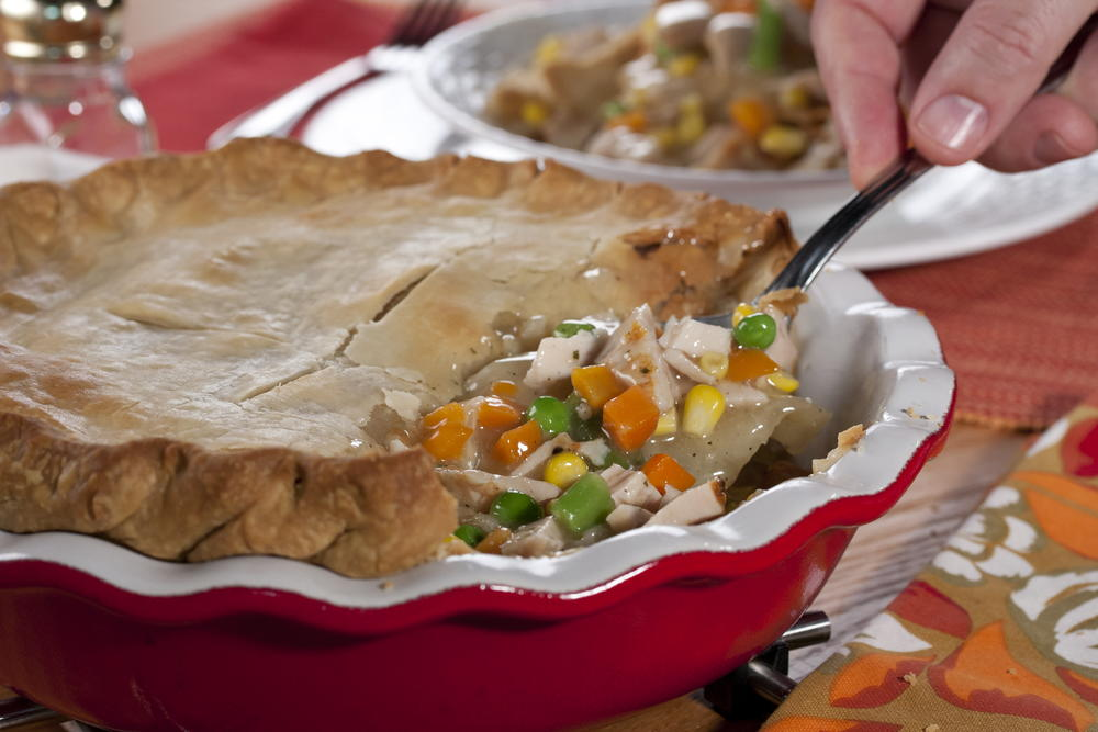 Turkey Pot Pie Mrfood Com