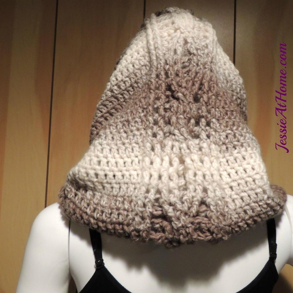 Hoodie Cowl Crochet Pattern FaveCrafts