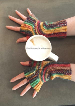 Artistic Dreams Crocheted Mitts