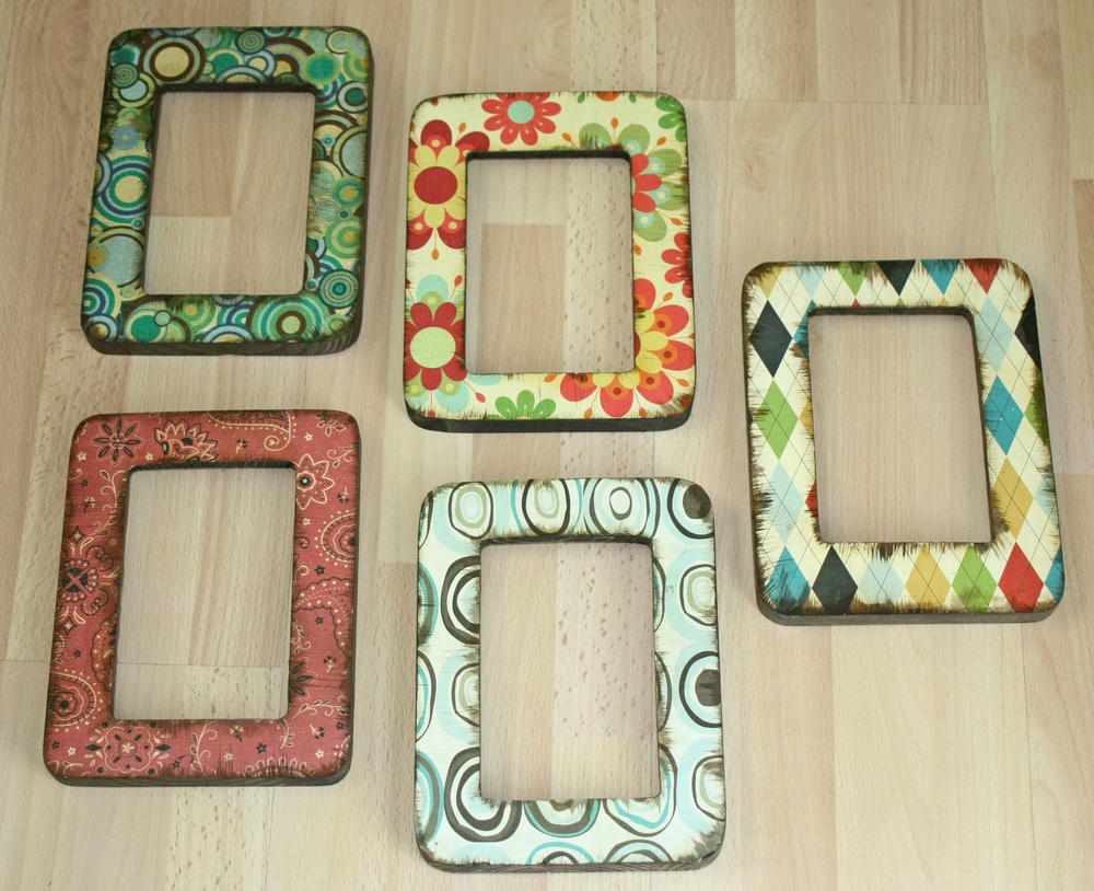 Easy decoupage frames for How to make a large picture frame