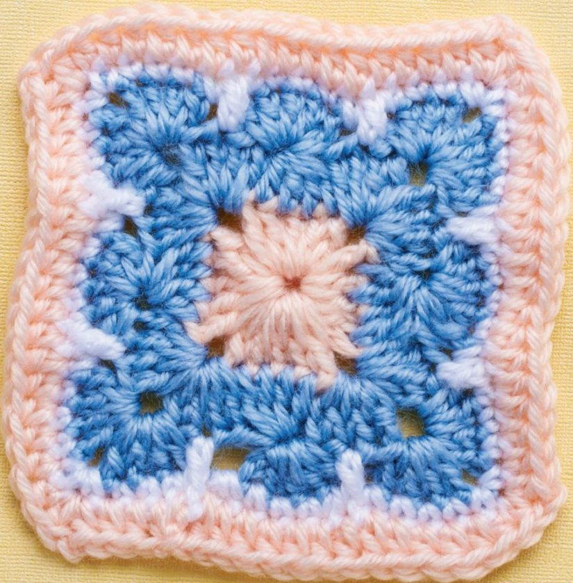 Crochet Pattern Granny Square : The Most Beautiful Crochet Granny Square Ever ...
