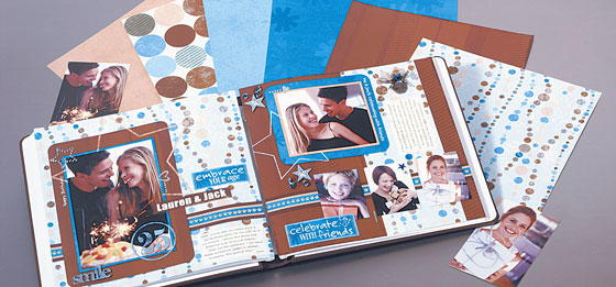 Happy Birthday Scrapbook Page Favecrafts Com