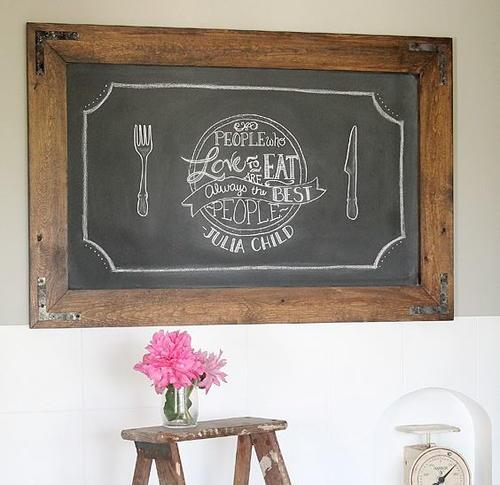 Rustic cottage diy mirror frame for Diy mirror frame decoration