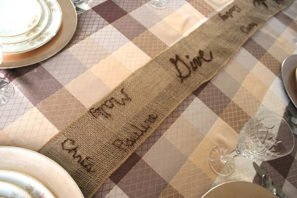Thanksgiving Table Runner Allfreesewing Com
