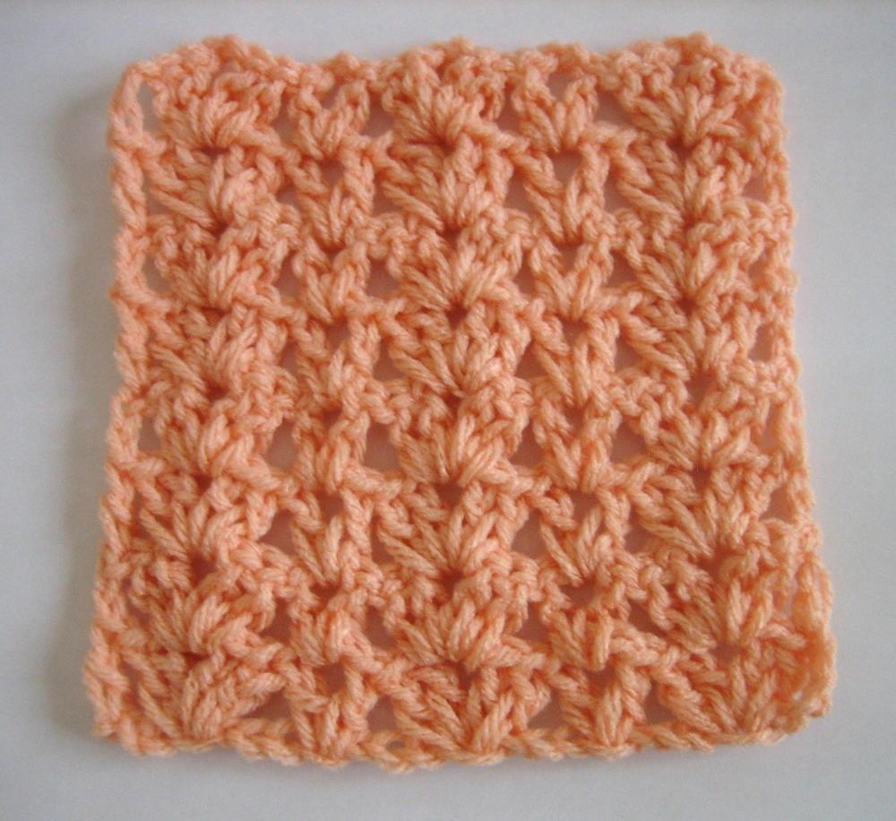 Shell Stitch Variation Squares