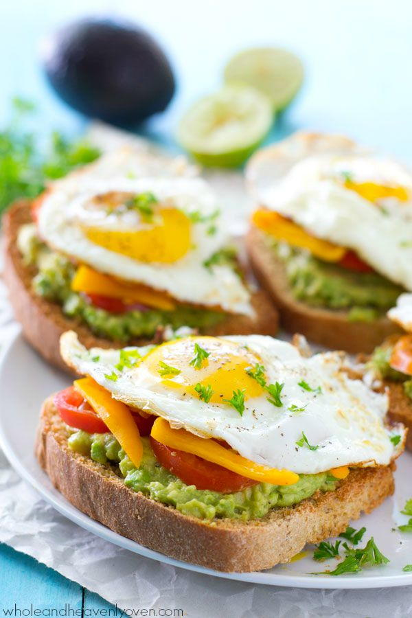 California Style Fried Egg Avocado Toast Recipelion Com