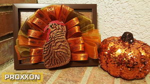 Framed Turkey Thanksgiving Decor