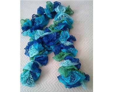 No Crochet Sashay Scarf Favecrafts Com
