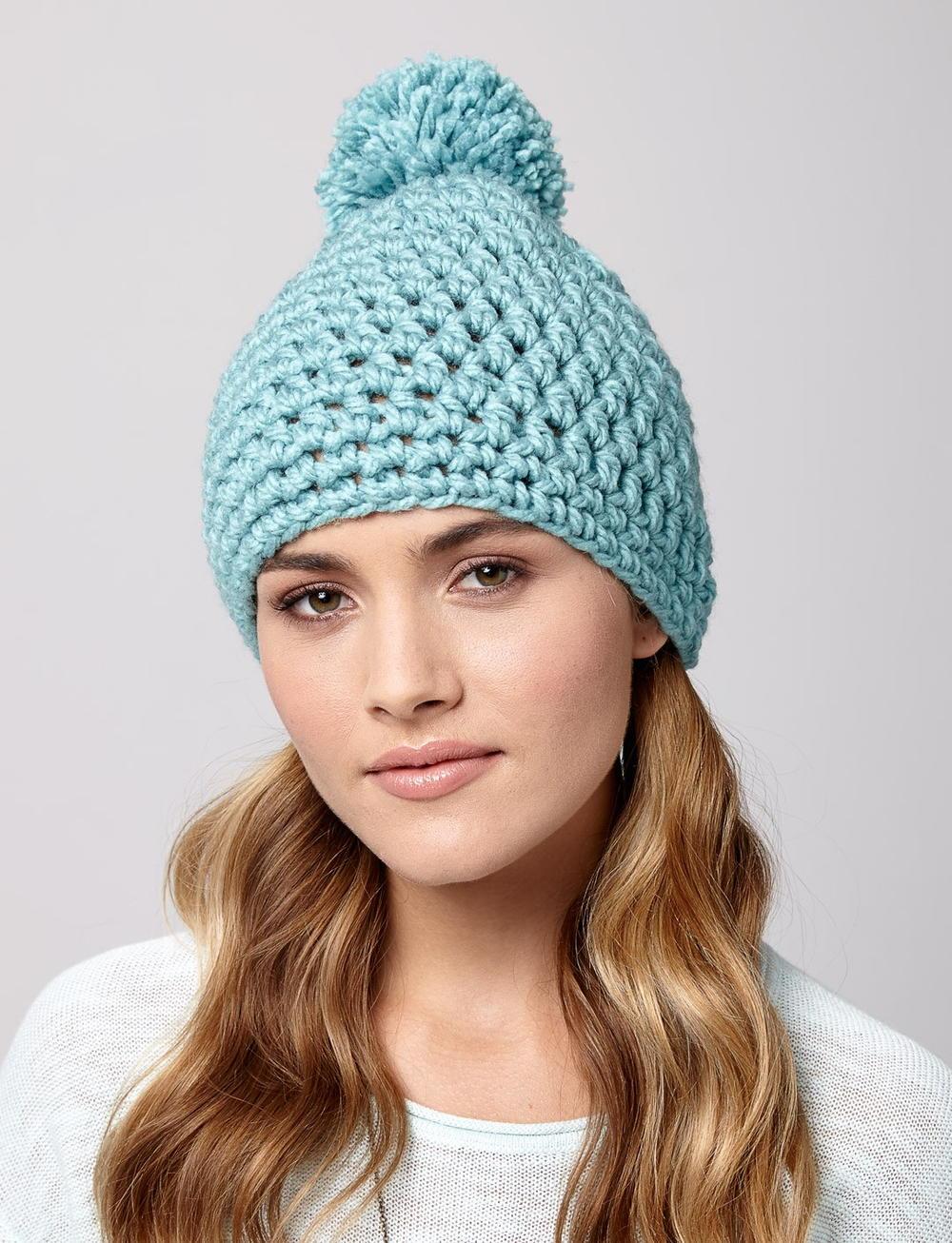Snow Drift Crochet Hat Allfreecrochet