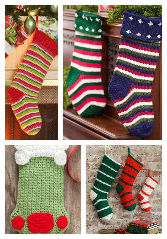 Crochet Christmas Stockings 8 Free Patterns Favecrafts Com