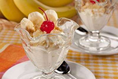 EDR Breakfast Banana Sundae