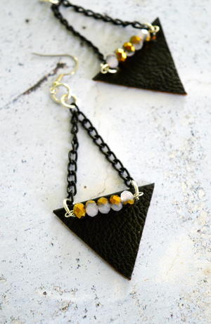 Edgy Geometric Earrings