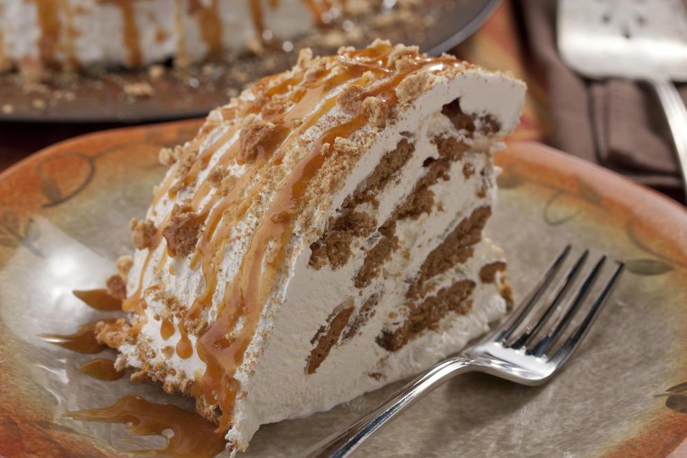 Maple-Ginger Icebox Cake | MrFood.com