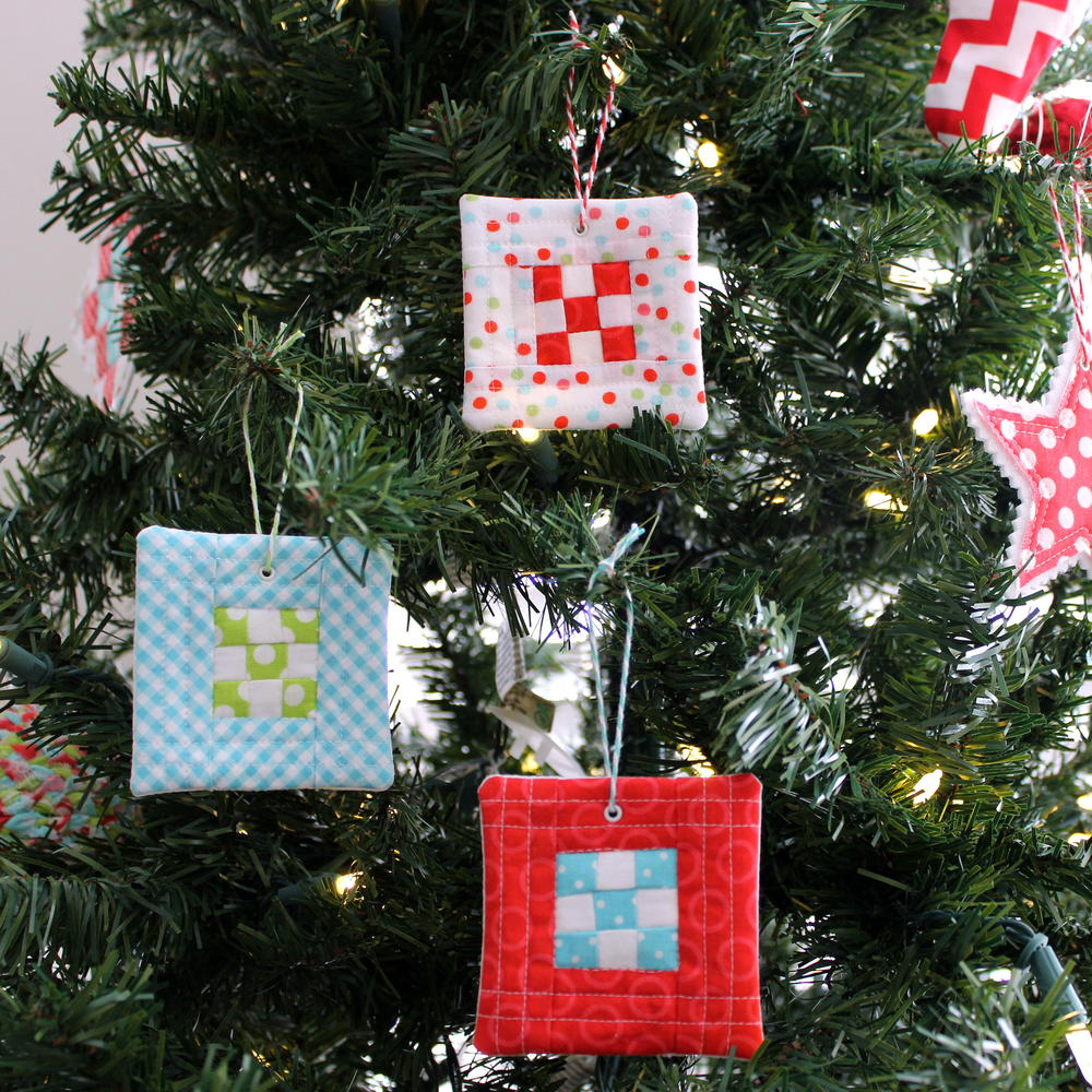 9 Patch Quilt Block Ornament Allfreesewing Com