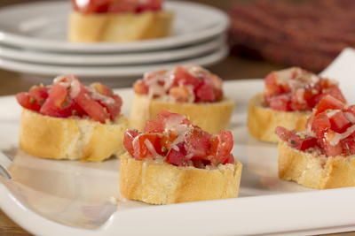 EDR Cheesy Bruschetta Romana