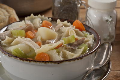 Hearty Amish Chicken Stew