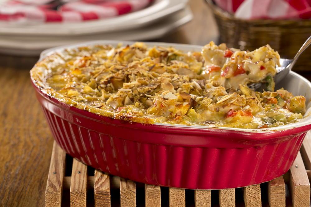 Creamy Crunchy Chicken Casserole | EverydayDiabeticRecipes.com