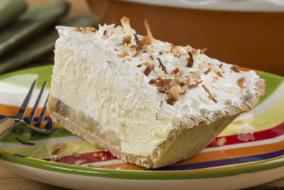 EDR Creamy Dreamy Banana Pie