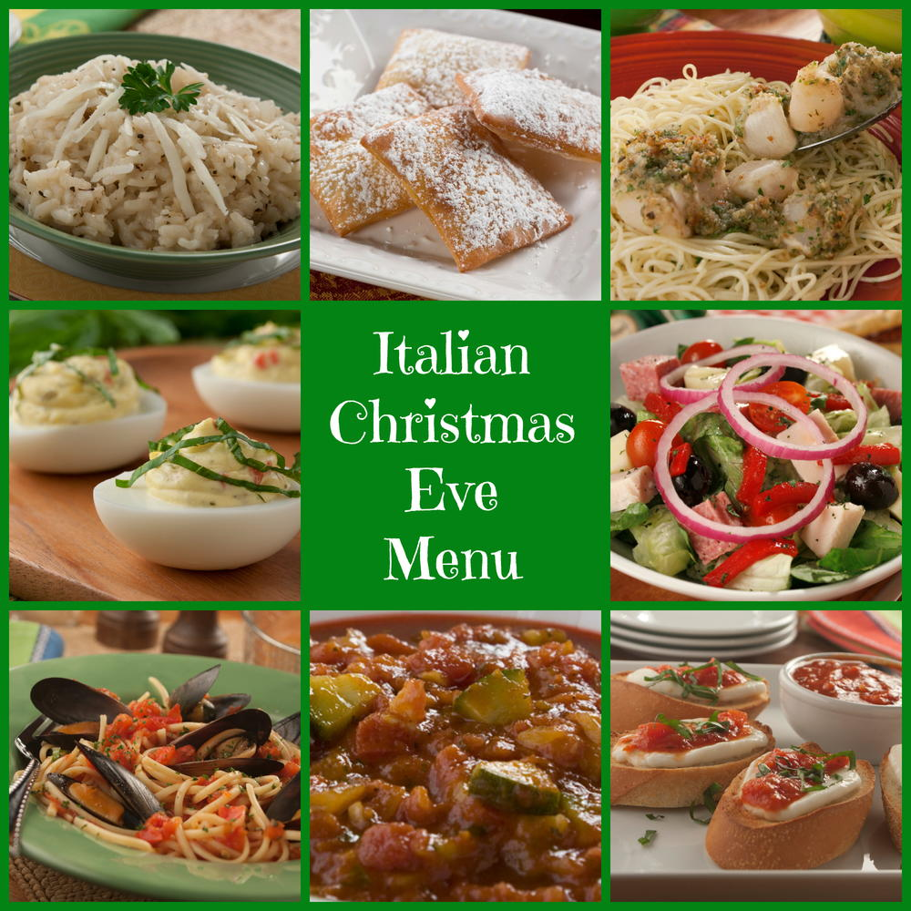 Cooking Rice Cooker Italian Christmas Eve Menu | MrFood.com