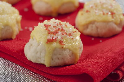 Mrs Claus Lemon Cookies