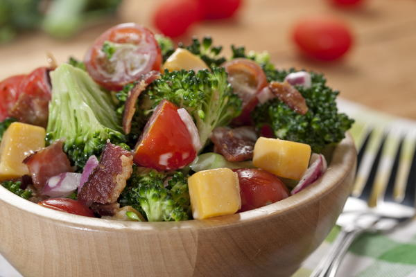 Southern Broccoli Tomato Salad